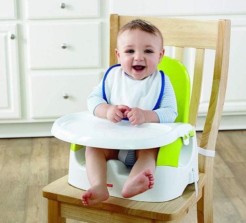 Fisher-Price 费雪 Quick-Clean 'n儿童便携式安全餐椅 23.96加元,原价 29.95加元