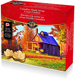 L B Maple Treat Red Box L B 枫糖浆饼干 4.04加元,原价 6.35加元