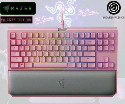 电竞小仙女们快来看看!Razer BlackWidow 樱花色游戏键盘 169.78加元,原价 182.38加元,包邮