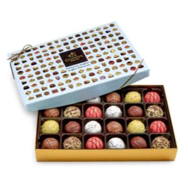 精选GODIVA 歌帝梵巧克力7.5折+额外9折,来自比利时皇室,送礼绝佳选择!