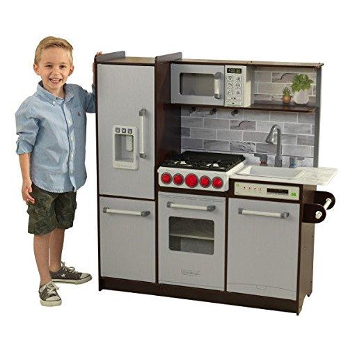 历史新低!KidKraft 53426 Ultimate Elite 仿真儿童玩具厨房 179.99加元包邮!