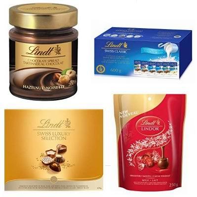 金盒头条:精选 Lindt 瑞士莲 巧克力4.7折起!低至1.27加元!