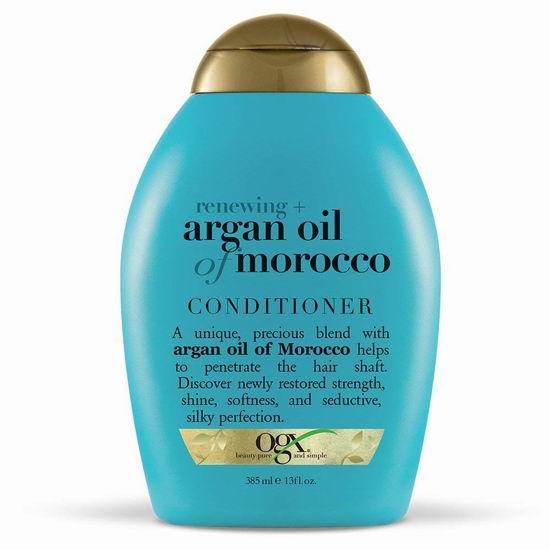 历史最低价!Organix OGX 摩洛哥坚果油护发素(385ml)5.4折 6.99加元!