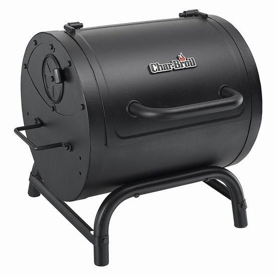 历史新低!Char-Broil 17402057 美式炭火烧烤炉5折 99.99加元包邮!