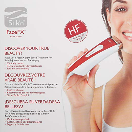 Silk'n FaceFX 红光抗衰老 光子嫩肤仪 103.99加元包邮!