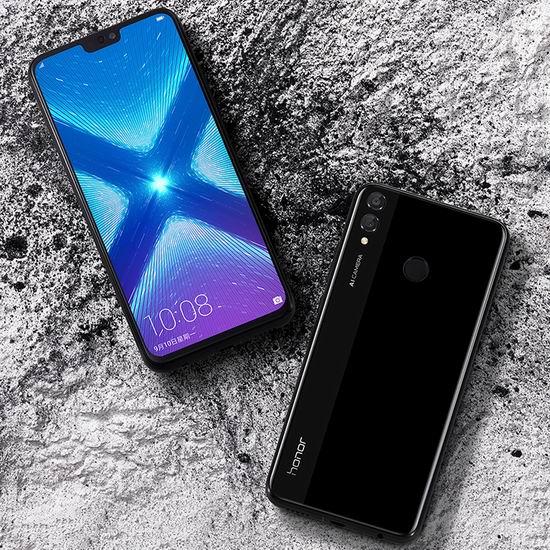 历史新低!Huawei 华为 Honor 荣耀 8X 6.5英寸全面屏 解锁版护眼智能手机(64GB + 4GB)  284加元包邮!
