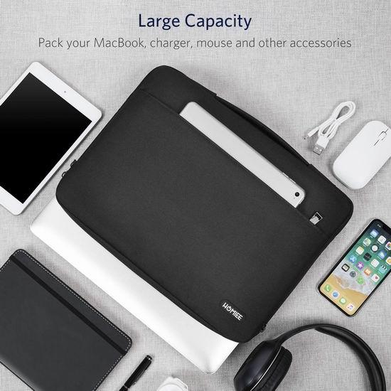 白菜价!历史新低!HOMIEE 13.3英寸 笔记本电脑/平板电脑 保护套/手提包 5.99-8.99加元清仓!4款可选!
