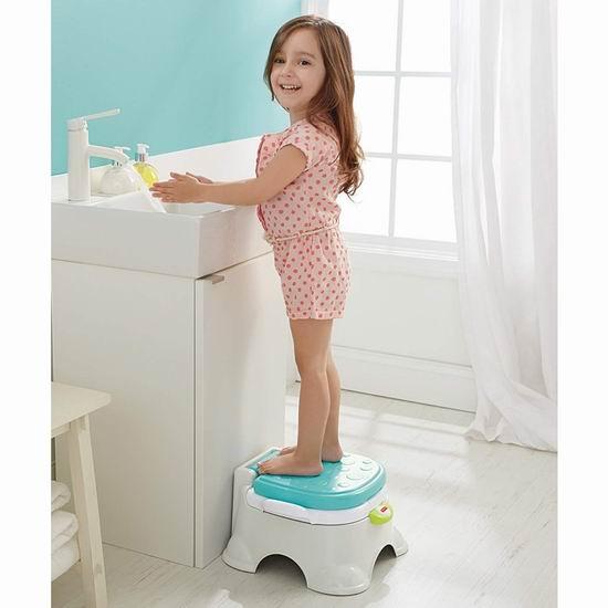 历史最低价!Fisher-Price 费雪 Stepstool 三合一 成长型婴幼儿马桶 22.36加元!