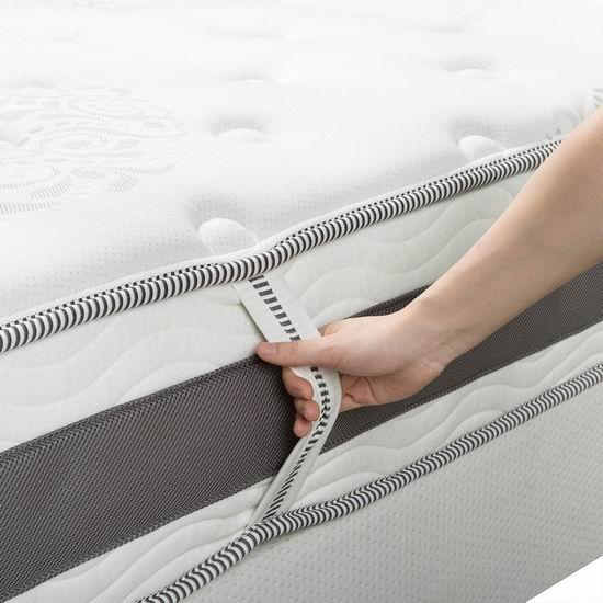 历史新低!Zinus 10英寸凝胶记忆海绵Queen床垫 275.43加元包邮!
