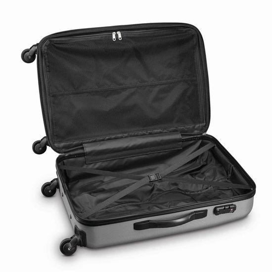 近历史低!Samsonite 新秀丽 Pulse DLX 20/28寸 银色轻质拉杆行李箱2件套2.7折 165.79加元包邮!