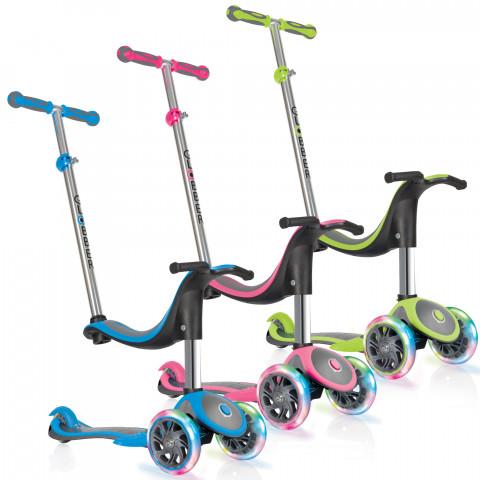 获德国玩具大奖!Globber 高乐宝 EVO 4合1多功能滑板车 86.37加元,原价 143.97加元,包邮