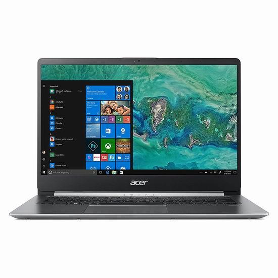 历史新低!Acer 宏碁 Swift 蜂鸟系列 14寸全金属超轻薄笔记本电脑(4GB/64GB) 368加元包邮!