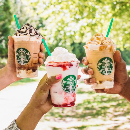 Starbucks 星巴克 Happy Hour!今日下午3点后 Frappuccino 星冰乐 5折!