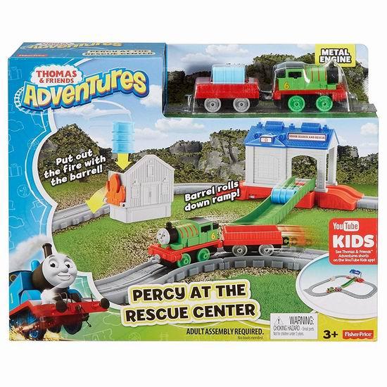 历史新低!Fisher-Price 费雪 Thomas & Friends 托马斯和他的朋友们 小火车+轨道套装 6.06加元清仓!