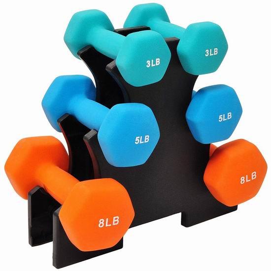近史低价!BalanceFrom BF-D358 40磅健身哑铃套装 42.24加元包邮!