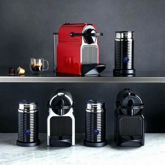 罕见好价!精选多款 Nespresso 胶囊咖啡机及咖啡机+奶泡机套装全部4.5折清仓!低至112.47加元!
