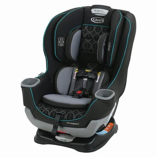 Graco Extend2Fit 双向婴幼儿汽车座椅6.3折 219.99加元包邮!2色可选!