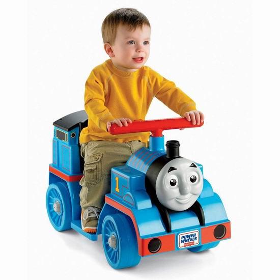 历史新低!Fisher-Price 费雪 Power Wheels 托马斯小火车 儿童电动车 99.99加元包邮!