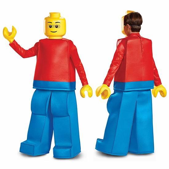 白菜价!Disguise Lego Guy Prestige 乐高 积木人 万圣节服装(L码)0.9折 8.46加元清仓!