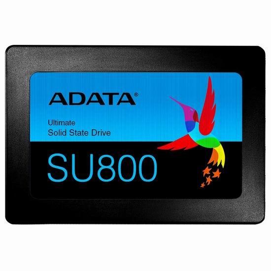历史新低!ADATA USA Ultimate Su800 3D Nand 2.5寸 1TB 固态硬盘4.5折 129.99加元包邮!