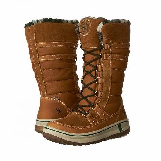 白菜价!Santana Canada Phoenix 女式雪地靴2.1折 60.23加元起!2色可选!