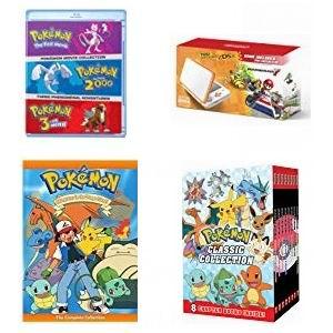 金盒头条:精选多款 Pokemon 神奇宝贝/口袋妖怪 影视剧合集、书籍、游戏机等5折起!