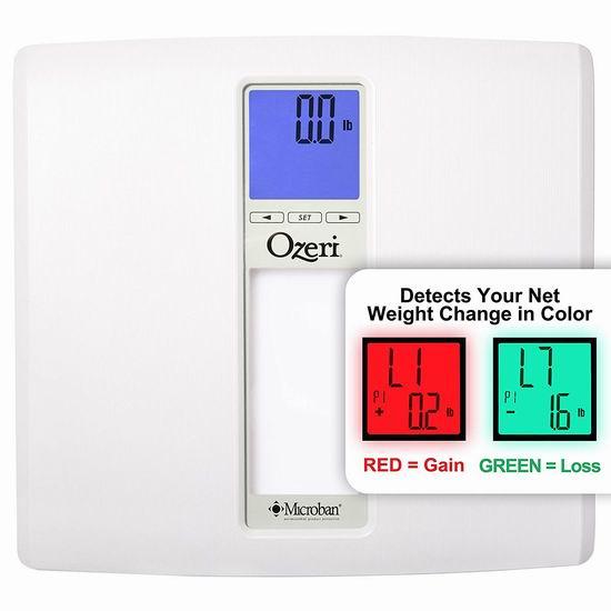 Ozeri ZB20 WeightMaster II 智能数字式体重秤4.7折 28.39加元!