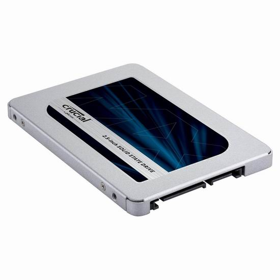 历史新低!Crucial 英睿达 MX500 3D NAND 250GB 2.5英寸固态硬盘 51.99加元包邮!