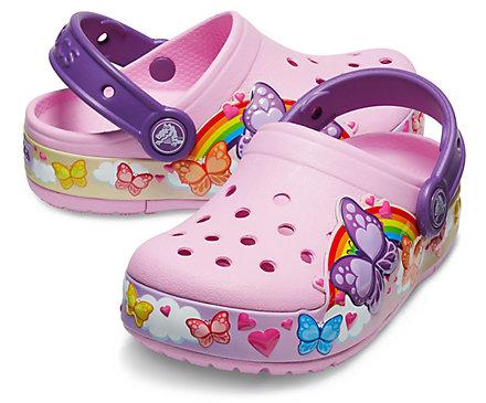 Crocs 卡洛驰长周末大促!精选洞洞鞋、凉鞋等特价销售+额外7折!收新款闪灯鞋!内附单品推荐!