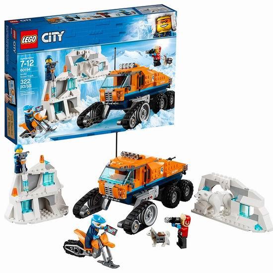 历史新低!LEGO 乐高 60194 城市系列 极地侦察车(322pcs)5折 39.99加元清仓并包邮!
