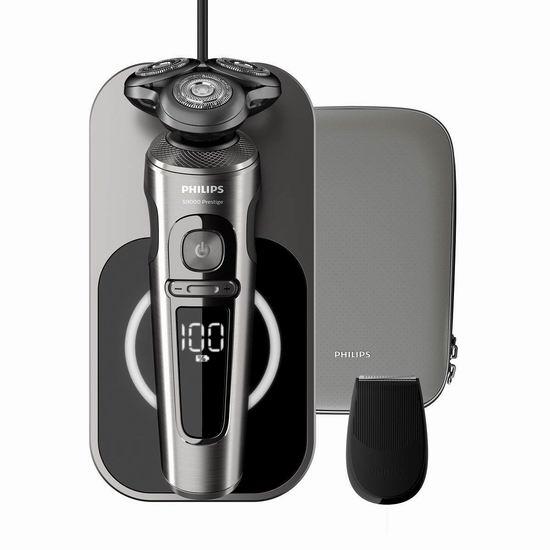 Philips 飞利浦 SP9860/13 S9000系列旗舰版  干湿两用 精准剃须 电动剃须刀 319.99加元包邮!