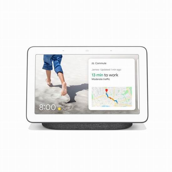 预定新品 Goolge Nest Hub 智能家居中枢,送价值79.95加元Google Home Mini智能音箱!