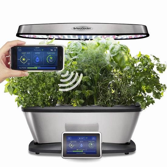 金盒头条:AeroGarden Bounty Elite Wi-Fi版 室内小花园+种子套装5.4折 299.95加元包邮!