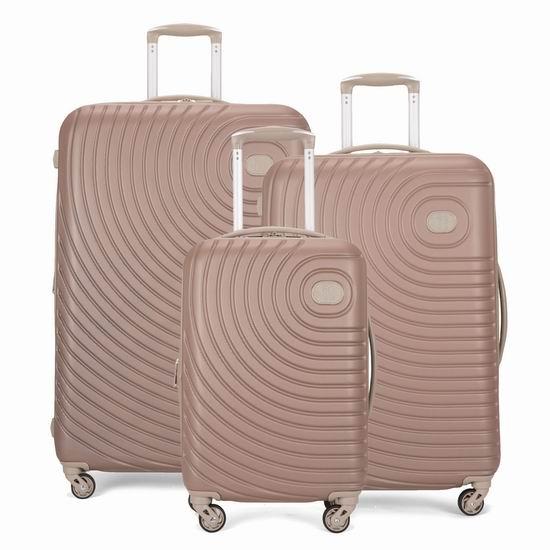 独家白菜:英国 IT Luggage Oasis 时尚硬壳 拉杆行李箱1.8折 63.2加元起包邮!2色多款可选!