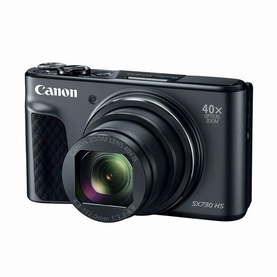 历史新低!Canon 佳能 PowerShot SX730 HS 40倍长焦 数码相机 308.98加元包邮!