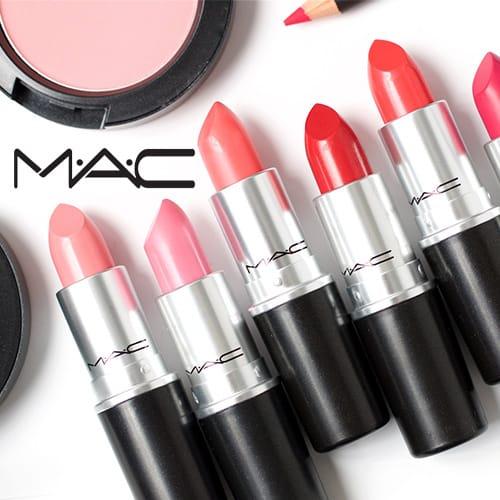 精选 MAC 彩妆产品全部6折清仓+满75加元再省10加元+满送价值132加元18件套豪华大礼包!入子弹头口红、樱花系列彩妆!