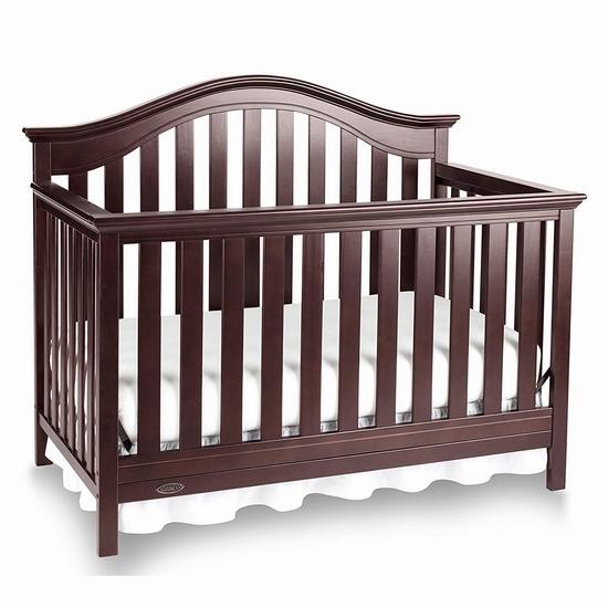 历史新低!Graco Bryson 四合一成长型婴儿床6.5折 260加元包邮!