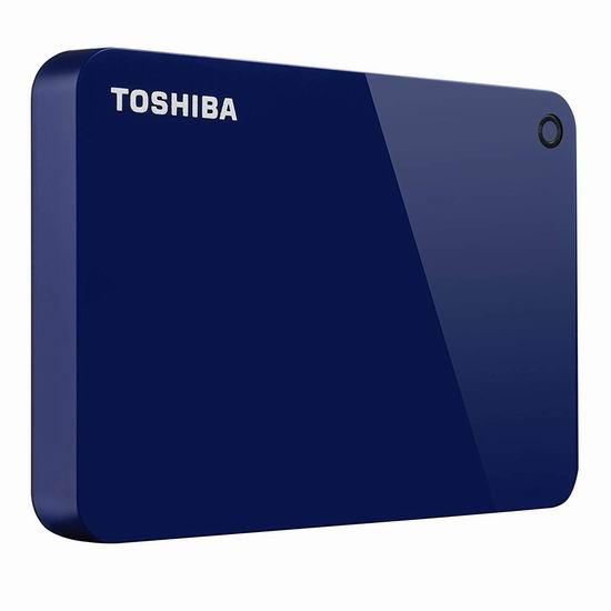 金盒头条:历史新低!Toshiba 东芝 Canvio Advance 1TB 超便携移动硬盘 58.99加元包邮!