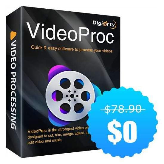 视频处理神器!VideoProc 多功能视频影片编辑软件 免费下载!
