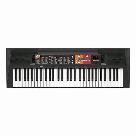 历史新低!Yamaha 雅马哈 PSRF51 61键电子琴5.5折 114.14加元包邮!
