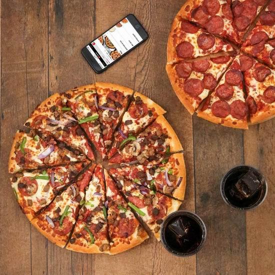 Pizza Hut 必胜客 网店下单 大号披萨5折!