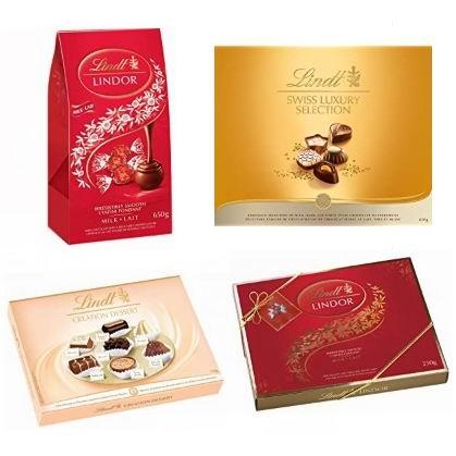 金盒头条:精选 Lindt 瑞士莲 巧克力7.1折起!低至10.72加元!