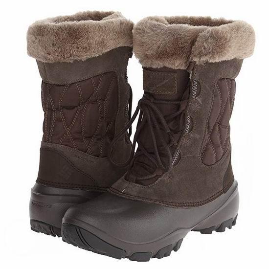 Columbia Sierra Summette IV 女式雪地靴4.2折 48.87加元起包邮!