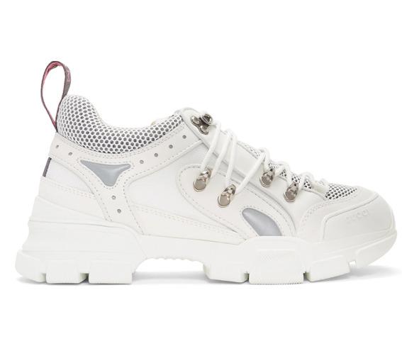 Gucci Flashtrek百搭款 小白鞋 900加元,nordstrom 售价 1384.12加元,包邮