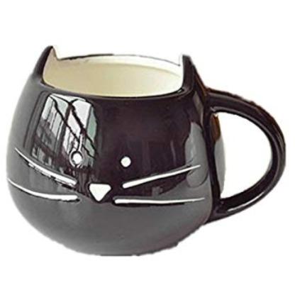 Moyishi-ca可爱小黑猫咖啡杯 8.88加元