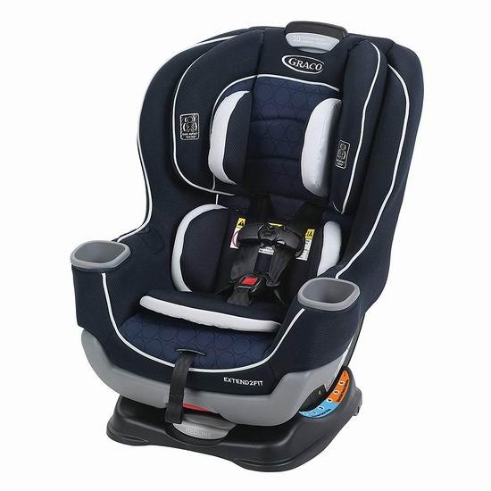 必抢单品!历史新低!Graco Extend2Fit 双向婴幼儿汽车座椅5.2折 157.47加元包邮!2色可选!无需会员!比昨天会员价还便宜!