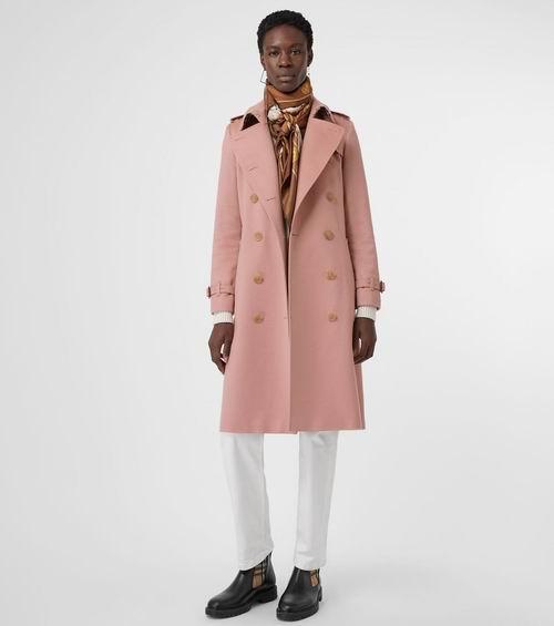 Burberry 巴宝莉 Trench 羊绒风衣 2029加元(4色),原价 3450加元,包邮