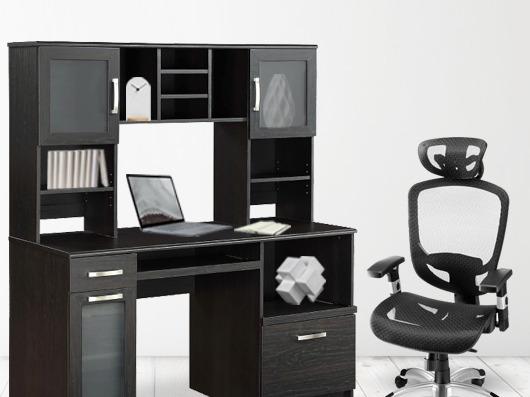 Staples精选电脑桌、办公椅 5折起+满200加元立减20加元!