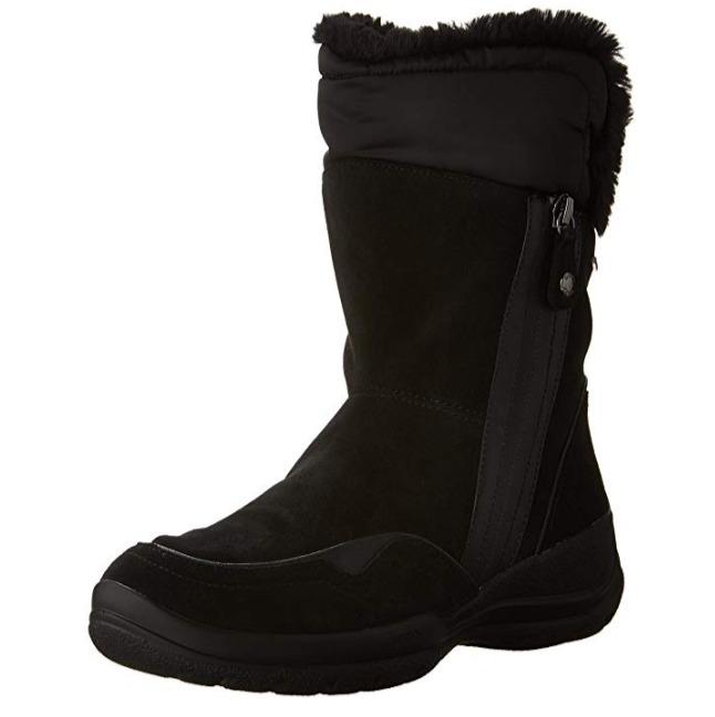 白菜价!Geox D Hellin女士雪地靴 44.78加元(5码),原价 191.43加元,包邮