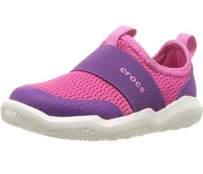 Crocs Swiftwater 儿童休闲鞋 25.64加元(10码),原价 51.19加元